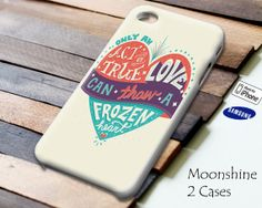 Disney Frozen Heart Quotes Case for iPhone 4/4S by Moonshine2Case, $13.99