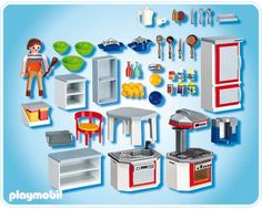 Kitchen with Dinnette Set 4283