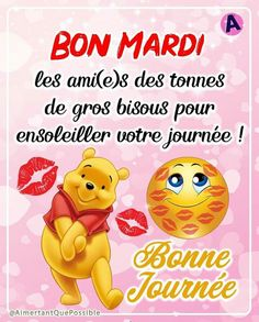 Bon Mardi, French Language, Books, Gifs, Facebook, Good Night, Positive Phrases, Days Of Week, Handsome Quotes
