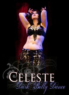 Isabelle Celeste Murray (Indianapolis, IN)- ITS teacher mentored by Ariellah and Tempest, specializing in dark belly dance. Troupe director for Black Rose Caravan.