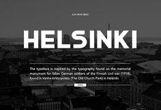 Helsinki free font