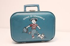 Vintage Children's Suitcase by BlueBirdAuthentiks on Etsy, $20.00