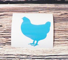 Chicken Steel Cup Decal Livestock Cup Decal Show Animal