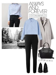 """""""#372"""" by blacksky000 ❤ liked on Polyvore featuring Zero + Maria Cornejo, Chloé, Alexander Wang, Pink Haley and Kendra Scott"""