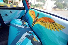Mumbai's Taxis Are Getting an Artistically Colorful Makeover - My Modern Met