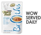 Being a cat just got more ENJOYABOWL with Fancy Feast Broths. Click here to #tryabowl: http://fancyfeast.com/wowserveddaily