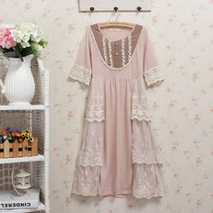 lolita dress hippie boho mori girl spain crochet roupas abiye ladies dresses vestidos casuales de mujer tunique patchwork jurk