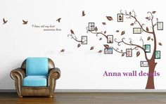Photo  treeVinyl Wall Decal Sticker Nature Design by annaandnana, $45.00