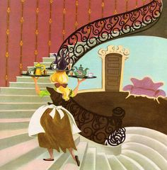 Walt Disney's Cinderella - illustrations by the Walt Disney Studio, adapted by Retta Scott Worcester. Story adapted by Jane Werner from the Walt Disney Motion Picture (1950).