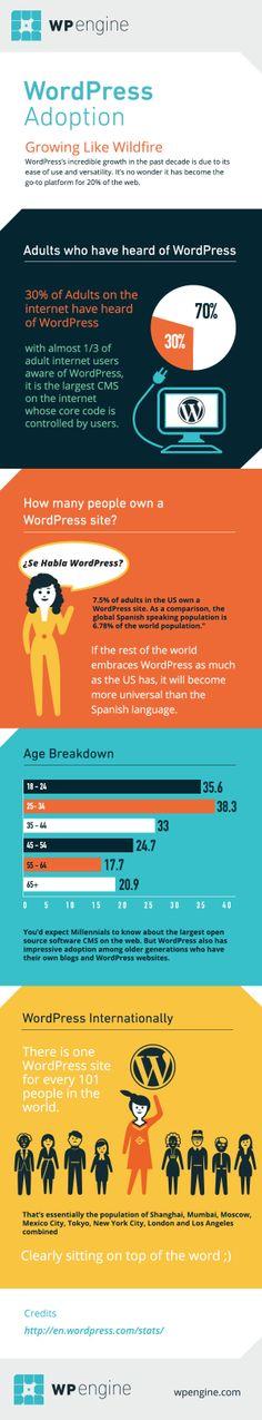 Wordpress crece a gran velocidad