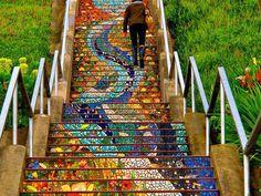 Beautiful steps around the world (16 photos)