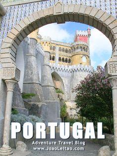 100 Amazing Places to Visit Portugal. National Park, Mountain, Beach, Unesco. Discover beautiful travel destinations: Lisbon, Oporto, Évora, Algarve.
