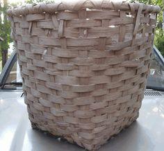 vintage cotton basket