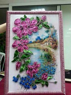 Çivi nakışı filografi Dot Art Painting, Thread Painting, Fabric Painting, Pictures On String, Nail String, Rhinestone Art, String Art Patterns, Thread Art, Art N Craft