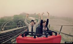 Spend the day at an amusement park
