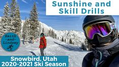 Sunshine and Skill Drills // Snowbird // 2020 - 2021 Ski Season Snowbird Resort, Snowbird Utah, Ski Utah, Ski Season, High Expectations, Drills, Skiing, Sunshine, Channel
