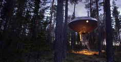 Unique luxury at the Treehouse hotel in Sweden