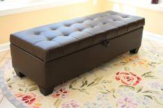 Home Life Mission Brown Tufted Leather Storage Ottoman Be... https://smile.amazon.com/dp/B00JOQNQ48/ref=cm_sw_r_pi_dp_x_hTmpybMK34C6A