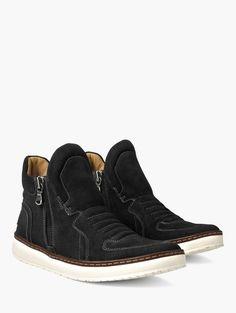 Barrett Creeper Mid Top Zip Sneaker. Man ShoesJohn VarvatosMen's ...