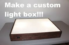 Image result for how to make an LED backlight for stained glass panel