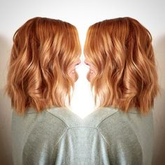 Copper Balayage by Jordan, My favorite hairstyle of all time, copper hair color for auburn ombre brown amber balayage and blonde hairstyles