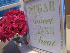 Sugar is Sweet so..