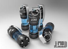 [J-170] Grenade Design , Jarlan Perez on ArtStation at http://www.artstation.com/artwork/j-170-grenade-design