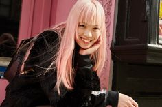 Who's That Girl? Meet Fernanda Ly, the Pink-Haired Model Who Stole the Louis…