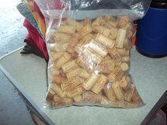 3 Pounds of Wine Corks by DreamersSky on Etsy