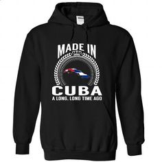 Made in Cuba - #tshirt painting #cardigan sweater. CHECK PRICE => https://www.sunfrog.com/States/Made-in-Cuba-vhrjhtedtu-Black-Hoodie.html?68278