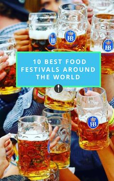 The best food festivals you need to put on your bucket list.