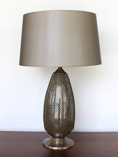 Chainmaille Lamp – www.SummerHouseStyle.com