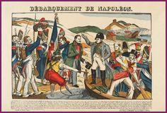 ⌛️ 1er mars 1815 : Napoléon débarque à Golfe-Juan de retour de son premier exil de l'île d'Elbe. C'est le début des Cent Jours.