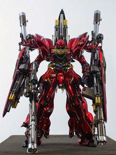 MG Sinanju Full Armor Custom build Gundam Toys, Gundam Art, Gunpla Custom, Custom Gundam, Gundam Astray, Gundam Mobile Suit, Unicorn Gundam, Mecha Anime, Anime Figurines