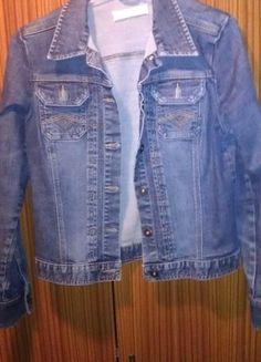 Kup mój przedmiot na #vintedpl http://www.vinted.pl/damska-odziez/marynarki-zakiety-blezery/8330112-jeansowa-katana-cherokee