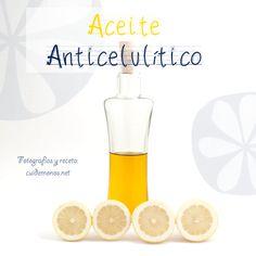 Aceite casero anticelulítico #cosmetica #belleza #anticelulitico #DIY http://www.cuidemonos.net/2014/05/aceite-casero-anticelulitico.html