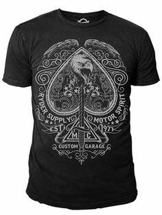 Ryder Supply Clothing Spade T-shirt (Black)