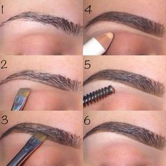 how to shape & groom your eyebrows - USA Fashion Trends