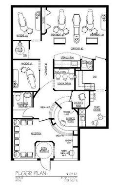 80 Awesome Dental Floor Plans Images Dental Office