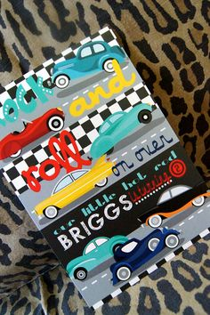 Hot Rod Classic Car Theme Birthday Party by kyankedesigns on Etsy, $43.75