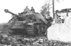 """kruegerwaffen: """" Jagdpanther from s.H.Pz.abt.559, November 1944 """""""