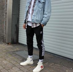 Mens fashion ideas image# 110 mode homme с Tomboy Fashion, Mens Fashion, Fashion Outfits, 80s Men's Fashion, Fashion Ideas, Street Fashion, Mode Outfits, Trendy Outfits, Men Street