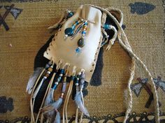 Your place to buy and sell all things handmade White Sage Smudge, Natural Curves, Clay Beads, Western Wear, Bird Feathers, Medicine, Pouch, Spirit, Silver