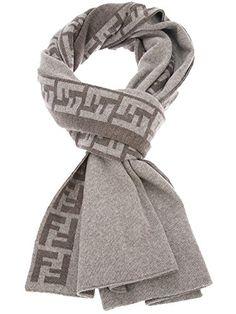 Fendi Knit Monogram Wool Scarf Zucca Stripe, Heather Grey Fendi http://www.amazon.com/dp/B00SX5B10M/ref=cm_sw_r_pi_dp_0kNYub18058XG