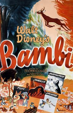 Why Walt Disney's movie 'Bambi' took 5 years to make (1942) - #bambi #waltdisney #disneymovie #classicdisney #bambimovie #vintagedisney #vintagebambi #clickamericana