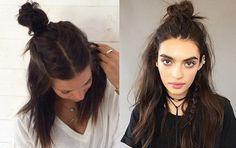 Silky Hair, Ponytail, Hair Inspiration, Bobby Pins, Hair Makeup, Hair Beauty, Hair Accessories, Flower Crowns, Hairstyles