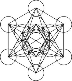 Metatron's Cube: How- to Draw it… | Cubes, Geometry and How to draw