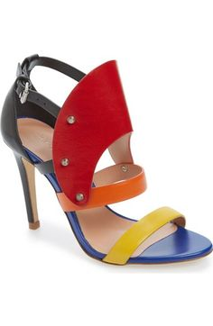 f69ae83391f924 L.A.M.B.  Gareth  Sandal (Women) available at  Nordstrom Wrap Shoes