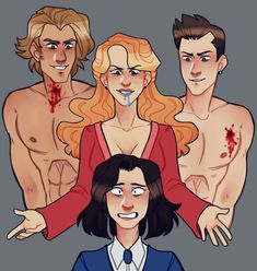 Veronica, Heather, Ram, and Kurt