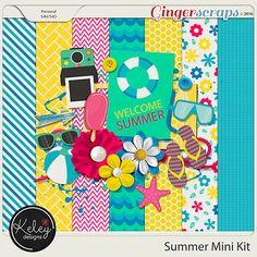 kd Summer Mini Kit by Keley Designs